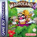 Warioland 4 Game Boy Advance Front Cover Europe