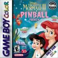 Disney's The Little Mermaid II: Pinball Frenzy Game Boy Color Front Cover