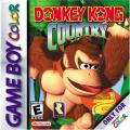 Donkey Kong Country Game Boy Color Front Cover