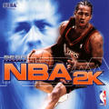 NBA 2K Dreamcast Front Cover