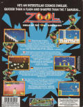 Zool DOS Back Cover