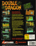 Double Dragon DOS Back Cover