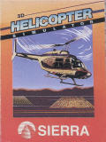 Sierra's 3-D Helicopter Simulator DOS Front Cover