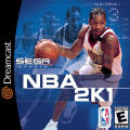 NBA 2K1 Dreamcast Front Cover