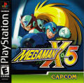 Mega Man X5 PlayStation Front Cover