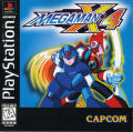 Mega Man X4 PlayStation Front Cover