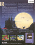 King's Quest IV: The Perils of Rosella DOS Back Cover