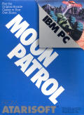 Moon Patrol PC Booter Front Cover