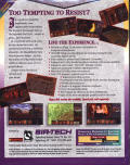 Realms of Arkania: Star Trail DOS Back Cover