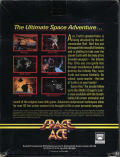 Space Ace DOS Back Cover