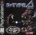 R-Type Delta PlayStation Front Cover