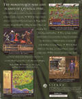 Birthright: The Gorgon's Alliance DOS Back Cover