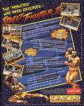 Street Fighter II DOS Back Cover