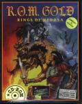 R.O.M. Gold: Rings of Medusa DOS Front Cover
