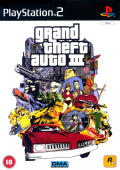 Grand Theft Auto III PlayStation 2 Front Cover