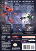 Spider-Man: The Movie GameCube Back Cover