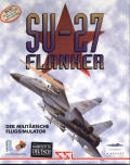 Su-27 Flanker DOS Front Cover