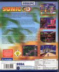 Sonic CD Windows Back Cover