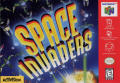Space Invaders Nintendo 64 Front Cover