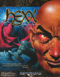 Hexx: Heresy of the Wizard DOS Front Cover