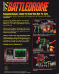 Metaltech: Battledrome DOS Back Cover