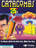 Catacomb 3-D DOS Front Cover