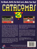 Catacomb 3-D DOS Back Cover