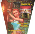 Tomb Raider DOS Inside Cover Top Flap
