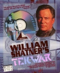 William Shatner's TekWar DOS Front Cover