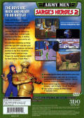 Army Men: Sarge's Heroes 2 PlayStation 2 Back Cover