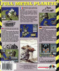 Full Metal Planete DOS Back Cover