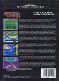 Sonic the Hedgehog 2 Genesis Back Cover