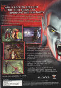 The Legacy of Kain Series: Blood Omen 2 Windows Back Cover