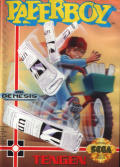 Paperboy Genesis Front Cover