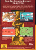 Centurion: Defender of Rome Genesis Back Cover