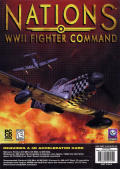 Nations: WWII Fighter Command Windows Front Cover