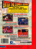 Comix Zone Genesis Back Cover