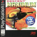 Descent Maximum PlayStation Front Cover