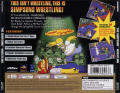 The Simpsons Wrestling PlayStation Back Cover