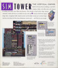 SimTower: The Vertical Empire Windows 3.x Back Cover
