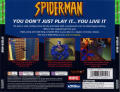 Spider-Man PlayStation Back Cover