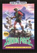 Shining Force Genesis Front Cover