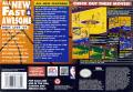 NBA Live 95 SNES Back Cover