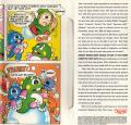 Bubble Bobble DOS Inside Cover Right Side