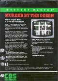 Mystery Master: Murder by the Dozen DOS Back Cover