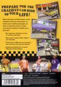 Crazy Taxi PlayStation 2 Back Cover