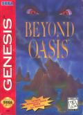 Beyond Oasis Genesis Front Cover