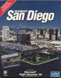 San Diego Scenery Add-on Pack for Microsoft Flight Simulator 98 Windows Front Cover