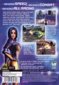 XGIII: Extreme G Racing PlayStation 2 Back Cover