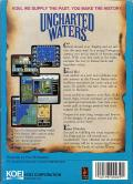 Uncharted Waters DOS Back Cover